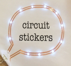 써킷 스티커 스타터 키트 Circuit Sticker Starter Kit Peel-and-stick Electronics for Crafting Circuits [110060028]